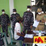 Jemput Bola, Lanal Nunukan Vaksinasi Masyarakat Kampung Mamolo