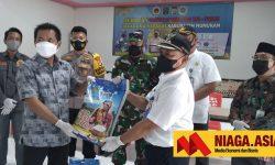 Jalani Isolasi Mandiri, Warga Sebatik Dapat Paket Bantuan Sembako dari H Momo