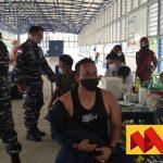 Dalam Waktu 3 Jam, 160 Dosis Vaksin Lanal Nunukan Habis Diserbu Masyarakat