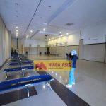 Aula Cantika Dibuka Kembali dengan 40 Tempat Tidur Tambahan Bagi Pasien COVID-19