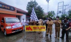 PT Pos Indonesia Salurkan 48 Ton Beras Bantuan PPKM di Berau