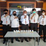 Gandeng BNNK, KP2KP Nunukan Tes Urine Seluruh Pegawai