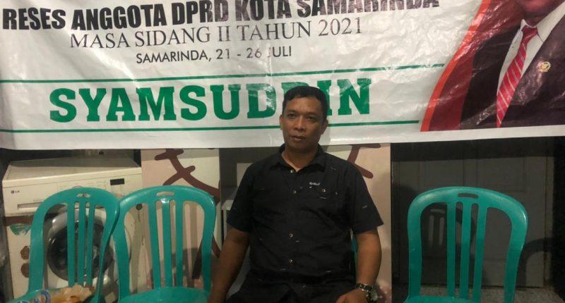 Syamsuddin Reses di Sungai Pinang Dalam, Warga Keluhkan Infrastruktur Dasar