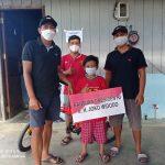 Bocah Vino yang Ditinggal Meninggal Orangtua di Kubar Dapat Sepeda Presiden Jokowi
