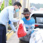 Peduli Warga Terdampak COVID-19, Rutan Samarinda Bagikan Ratusan Paket Sembako