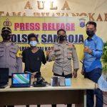 Maling Spesialis Bobol Rumah di Kukar Dibekuk Polisi