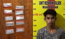 Pemuda Toko Lima Badak Nyaris Edarkan 10 Poket Sabu, Ini Tampangnya