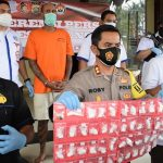 Polisi Sita Kokain Rp1,5 Miliar dari WNA Jerman