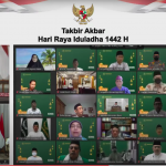 Presiden Jokowi: Bersama Optimalkan Ikhtiar Lahiriah dan Batiniah Hadapi Pandemi