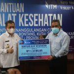 PT Indo Tambangraya Megah Serahkan Bantuan Alkes Senilai Rp11,34 Miliar