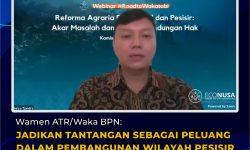 Wamen ATR/Waka BPN: Ada 4 Tantangan dalam Pembangunan Wilayah Pesisir dan Pulau-Pulau Kecil