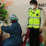 Bupati Tinjau Vaksinasi Gotong Royong PT PAMA