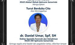 Kedokteran Berduka, Dokter Spesialis Forensik RSUD AWS Meninggal Akibat COVID-19