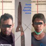 Buron 5 Bulan, Dua Maling Ditangkap di Loktuan Bontang