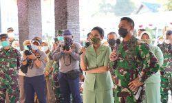 Di RS Dr Hardjanto Balikpapan, Hetty Andika Perkasa Semangati Nakes Tangani COVID-19