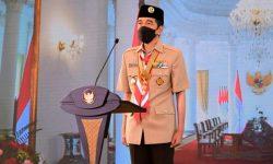Presiden: Pramuka Harus Jadi Pelopor Disiplin Protokol Kesehatan