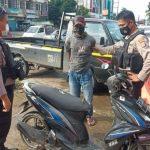 Naik Motor Ugal-ugalan, Warga Samarinda Ini Ternyata Bawa Sabu