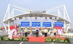 Presiden Resmikan Jalan Tol Dalam Kota Segmen Pulo Gebang-Kelapa Gading