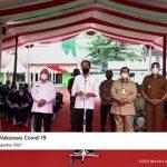 Di Samarinda, Jokowi Pastikan Akan Tambah Vaksin COVID-19 Untuk Kaltim