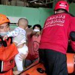 Balikpapan Banjir, 25 Orang Dievakuasi Termasuk Bayi & Balita