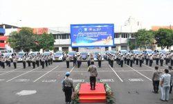 Korlantas Polri Beri 51 Unit Kendaraan Buat Dukung PON XX 2021 di Papua