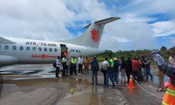 Uji Pesawat dan Rute di Wilayah Asmat, Wings Air Mendarat Mulus di Ewer