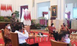Bertemu Pimpinan Partai Koalisi, Presiden Beberkan Angka-Angka Penanganan COVID-19