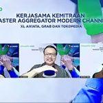 Pacu Penjualan, XL Axiata Jalin Kemitraan Strategis Bareng Grab & Tokopedia