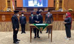 DPRD Samarinda Setujui Raperda RPJMD 2021 – 2026 jadi Perda
