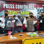 Polisi Bongkar Home Industry Ineks Palsu