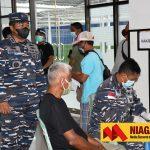 Lanal Nunukan Kembali Vaksinasi Masyarakat Maritim