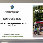 Hingga Agustus 2021, Realisasi Belanja APBN Sudah Rp1.560,8 Triliun