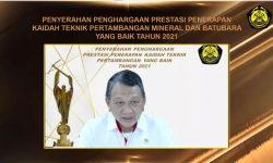 PT Arutmin Indonesia Tambang Senakin Raih Penghargaan Terbaik