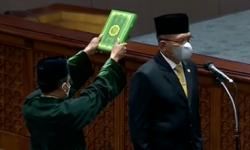 DPR Tetapkan Lodewijk sebagai Wakil Ketua DPR Gantikan Azis Syamsuddin