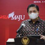 Airlangga: Tidak Ada Provinsi Level 4 di Luar Jawa-Bali