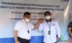 PNM dan SMF Sediakan Dana Rp2 Triliun untuk Pembiayaan Mikro Perumahan