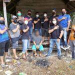 Tersangka Pelaku Pembunuhan Gegara Batas Tanah Ditangkap di Kebun Karet di Samboja