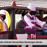 Presiden Jokowi Resmikan Bendungan Bendo di Kabupaten Ponorogo