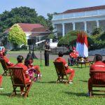Presiden Jokowi Serahkan Bonus Atlet Indonesia di Paralimpiade Tokyo