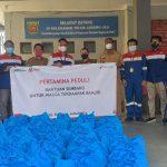 Pertamina Peduli Beri Bantuan 100 Paket Sembako Warga Terdampak Banjir Samarinda