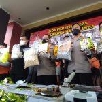 Ngeri! 25 Kg Sabu dan 37 Ribu Butir Ekstasi Nyaris Beredar di Samarinda