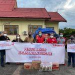 Telkomsel Bantu Korban Banjir Katingan & Penanganan COVID-19 di Palangka Raya