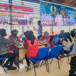 40 Polisi Jaga Vaksinasi Corona 625 Orang Napi Lapas Bontang