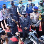 Operasi Laut Terpadu BNN, 122 Kg Sabu Gagal Masuk Indonesia
