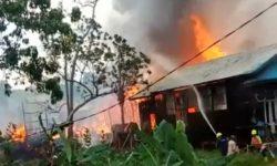 Tujuh Rumah di Samarinda Terbakar, 4 Motor Ikut Hangus