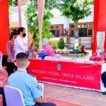Presiden Joko Widodo Tinjau Vaksinasi di Kabupaten Ponorogo