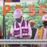 Presiden Jokowi Resmikan Bendungan Paselloreng di Kabupaten Wajo