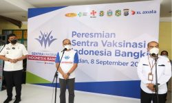 Serentak di Medan, XL Axiata Gelar Sentra Vaksinasi Sekaligus Pengenalan 5G