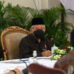 Bahas Revisi UU ASN, Wapres: Jangan Lemahkan Reformasi Birokrasi
