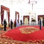 Presiden Jokowi Terima Surat Kepercayaan Empat Dubes Negara Sahabat